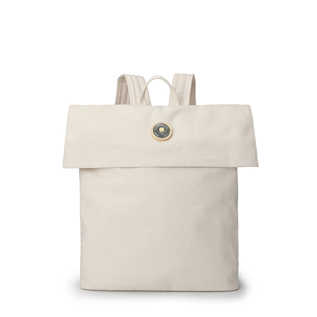 White cloth bag (inlaid with Emerald)