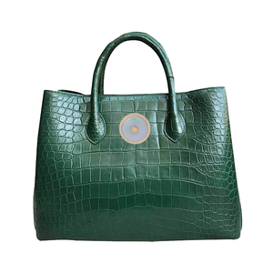 Green national mother's bag