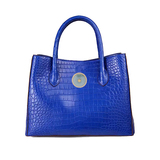 Blue national mother's bag